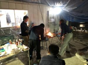 宮﨑鉄筋工業 バーベキュー